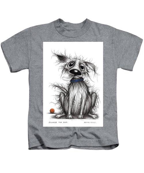 Stinker The Dog Kids T-Shirt