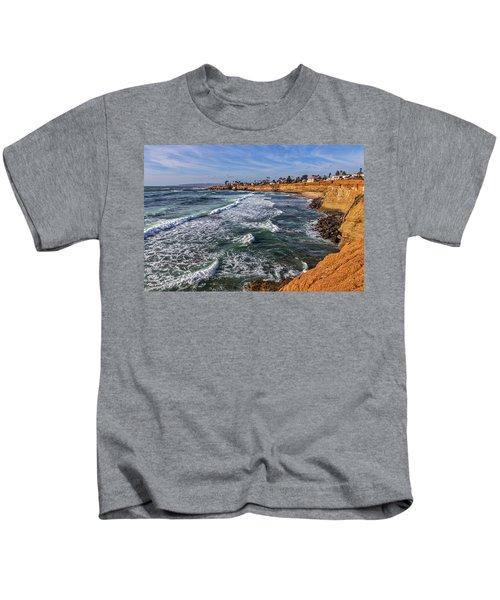 Sunset Cliffs 2 Kids T-Shirt
