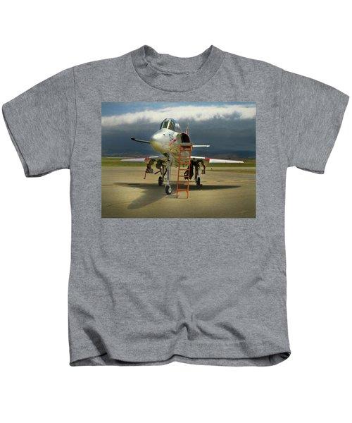 Ta-4j Skyhawk Kids T-Shirt