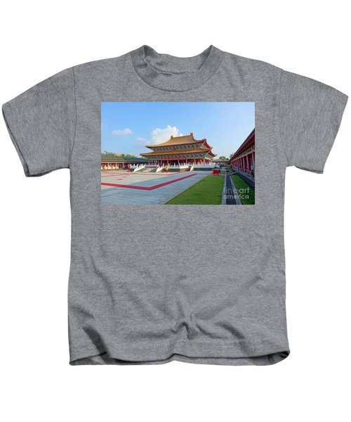 The Confucius Temple In Kaohsiung, Taiwan Kids T-Shirt
