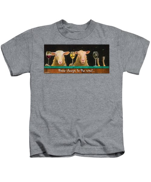 Three Sheeps To The Wind... Kids T-Shirt