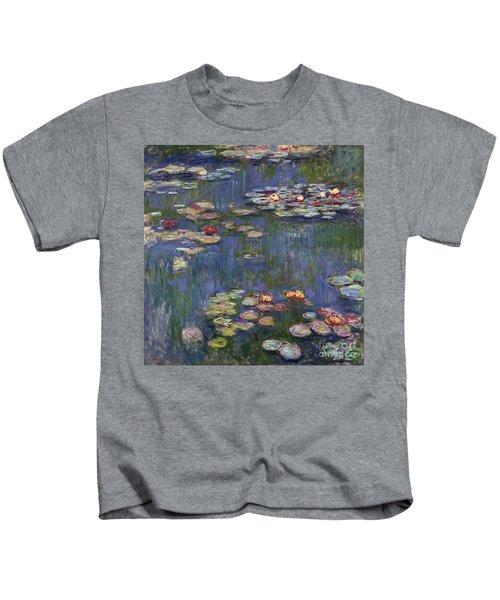 Water Lilies, 1916 Kids T-Shirt