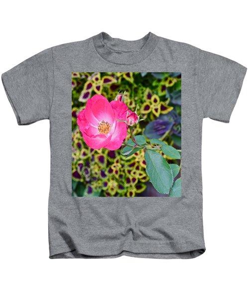 2015 Fall Equinox At The Garden Hello Fall Kids T-Shirt