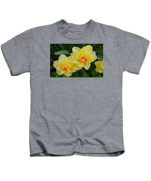 2015 Spring At The Gardens Tango Daffodil Kids T-Shirt
