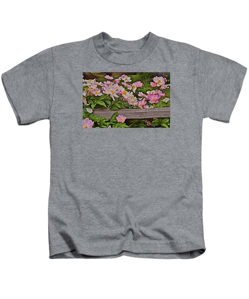 2015 Summer's Eve Front Yard Peonies 1 Kids T-Shirt