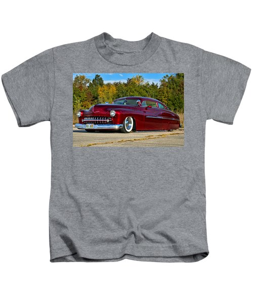 1951 Mercury Low Rider Kids T-Shirt