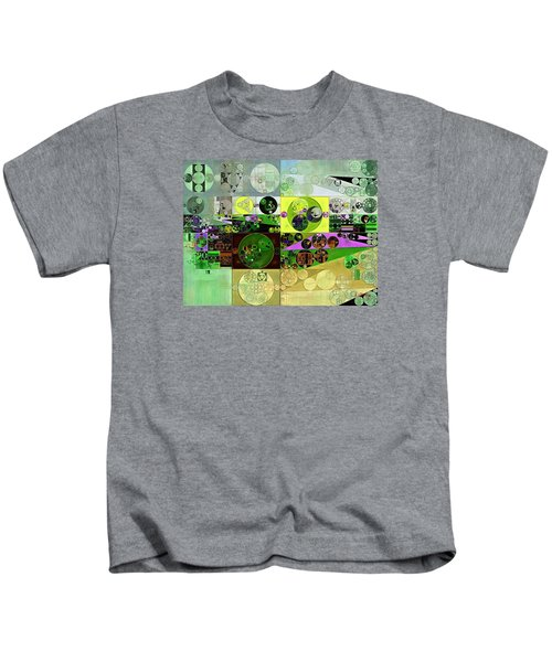Abstract Painting - Black Bean Kids T-Shirt