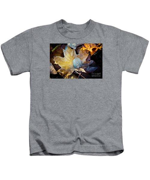 Autumn Leaves Frozen Artmif.lv Kids T-Shirt