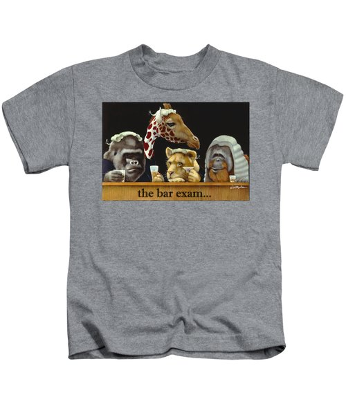 Bar Exam... Kids T-Shirt