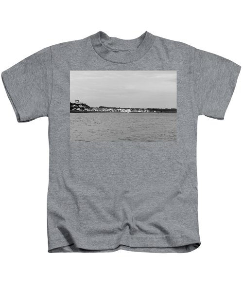 Coastline At Molle In Sweden Kids T-Shirt