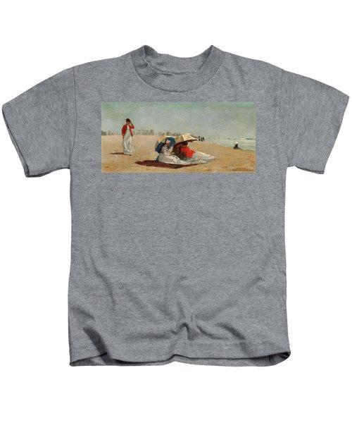 East Hampton Beach, Long Island Kids T-Shirt