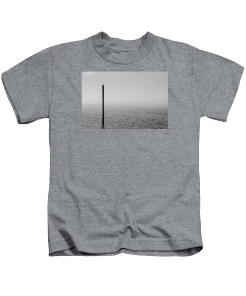 Fog On The Cape Fear River Kids T-Shirt