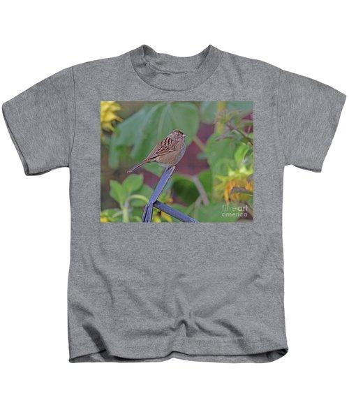 Golden-crowned Sparrow Kids T-Shirt