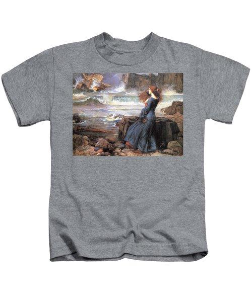 Miranda - The Tempest Kids T-Shirt