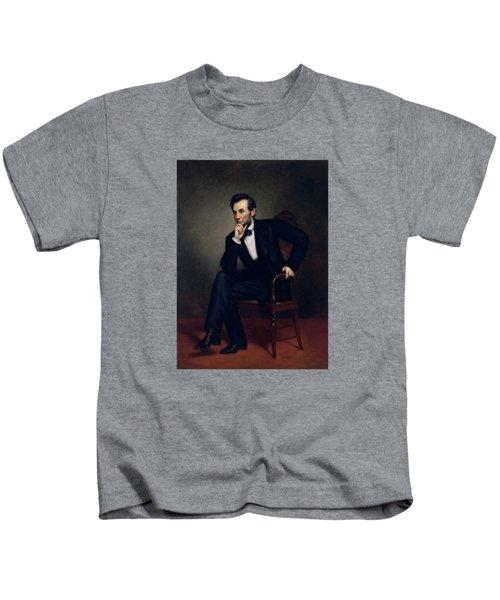 President Abraham Lincoln Kids T-Shirt