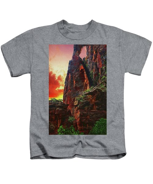 Sunrise In Canyonlands Kids T-Shirt