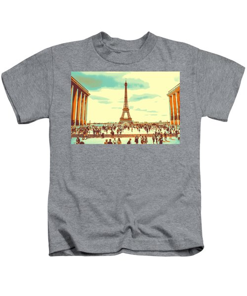 The Eiffel Tower Kids T-Shirt