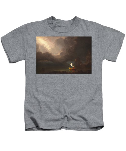 The Voyage Of Life Old Age Kids T-Shirt