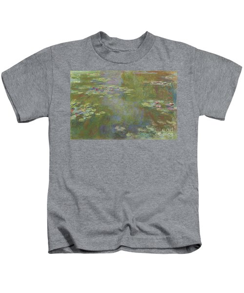 Water Lily Pond Kids T-Shirt
