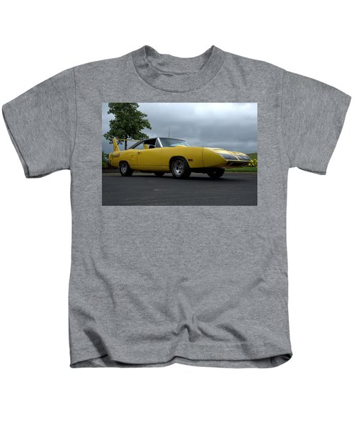 1970 Plymouth Roadrunner Superbird Kids T-Shirt