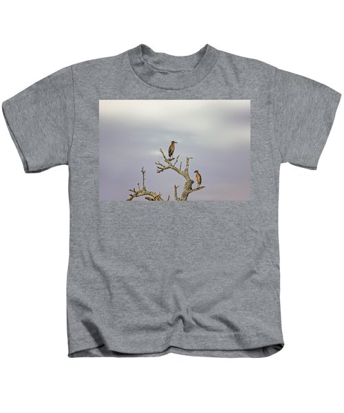 Green Heron Kids T-Shirt