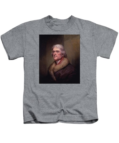 President Thomas Jefferson Kids T-Shirt by War Is Hell Store
