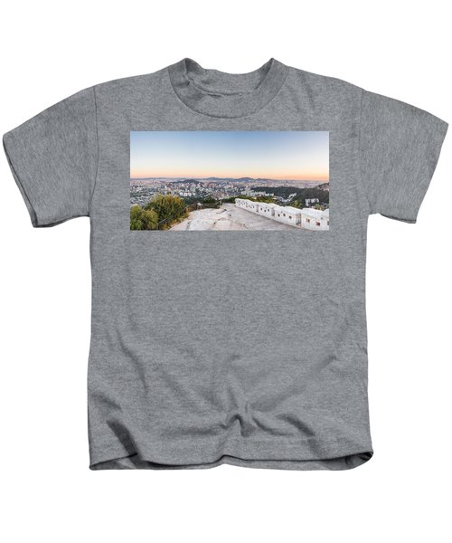 Sunset Over Seoul Kids T-Shirt