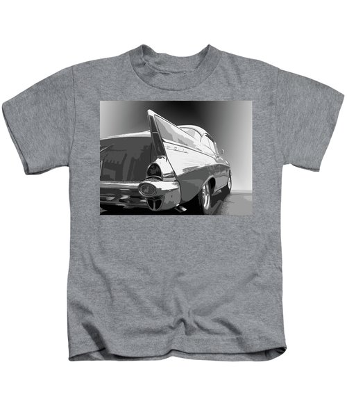 57 Chevy Horizontal Kids T-Shirt