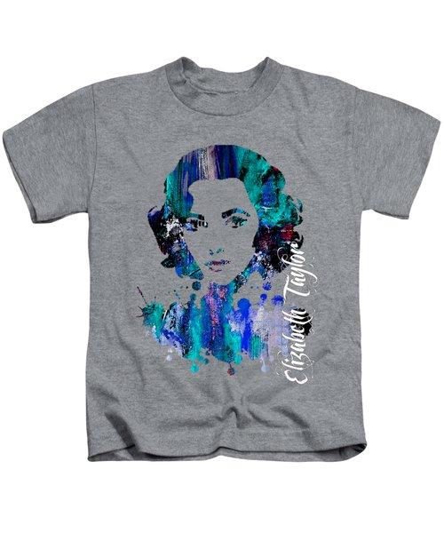 Elizabeth Taylor Collection Kids T-Shirt