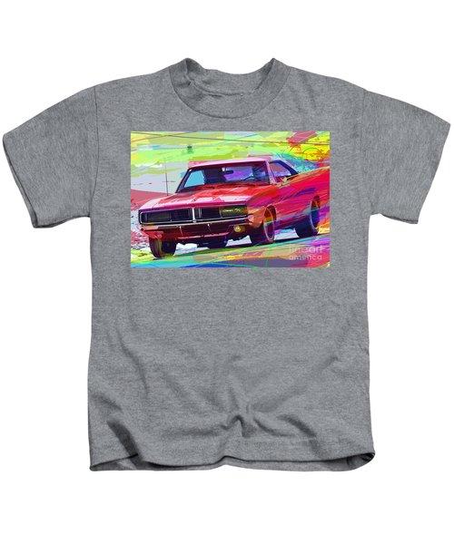 69 Dodge Charger  Kids T-Shirt