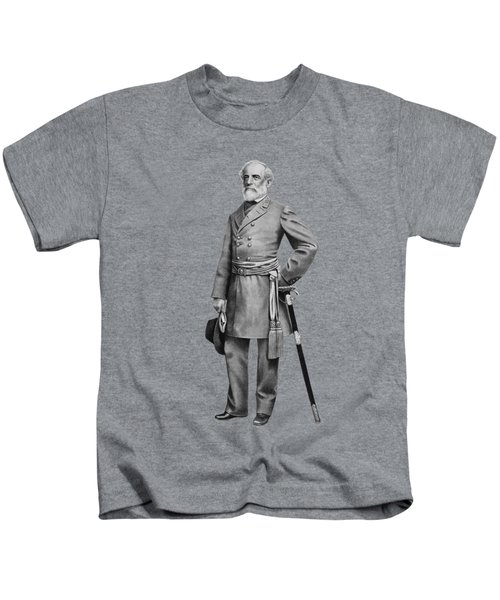 General Robert E Lee Kids T-Shirt