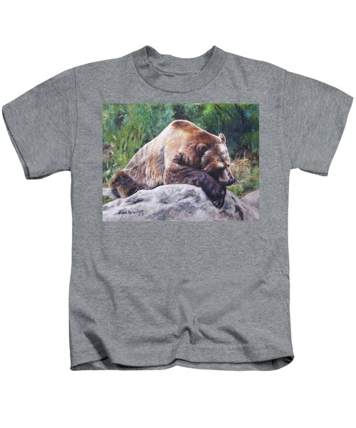 A Bear Of A Prayer Kids T-Shirt
