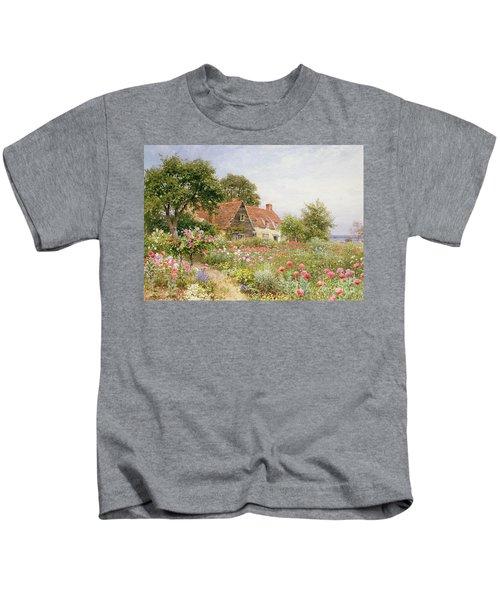 A Cottage Garden Kids T-Shirt