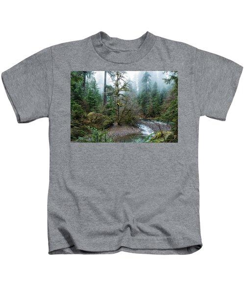A Creek Runs Through It Kids T-Shirt