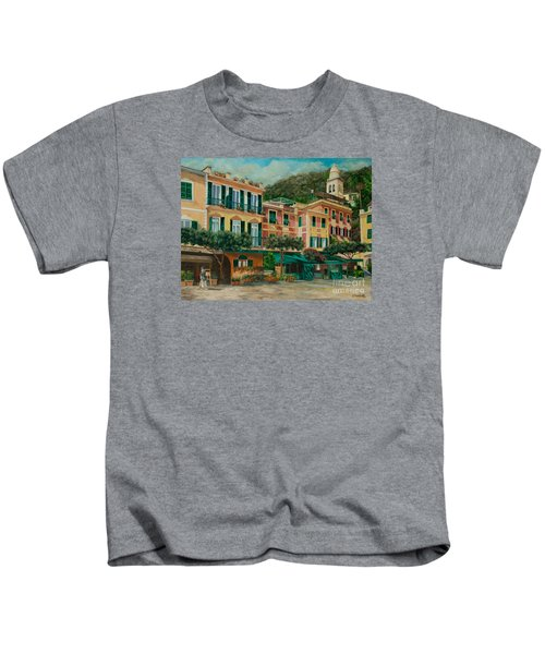 A Day In Portofino Kids T-Shirt