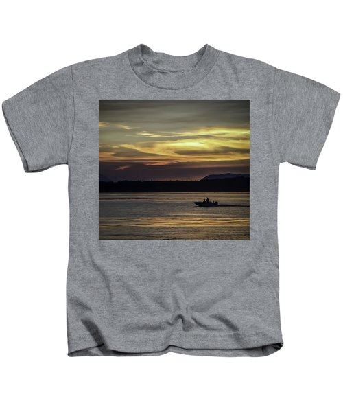A Day Of Fishing Kids T-Shirt