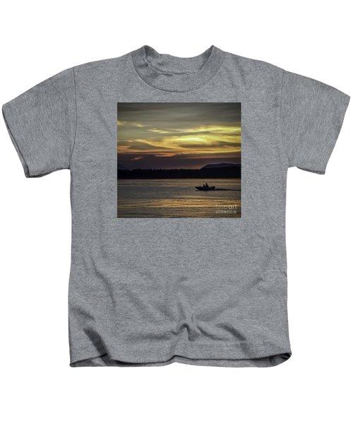 A Day Of Fishing Kids T-Shirt