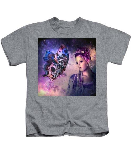 A Fairy Butterfly Kiss Kids T-Shirt