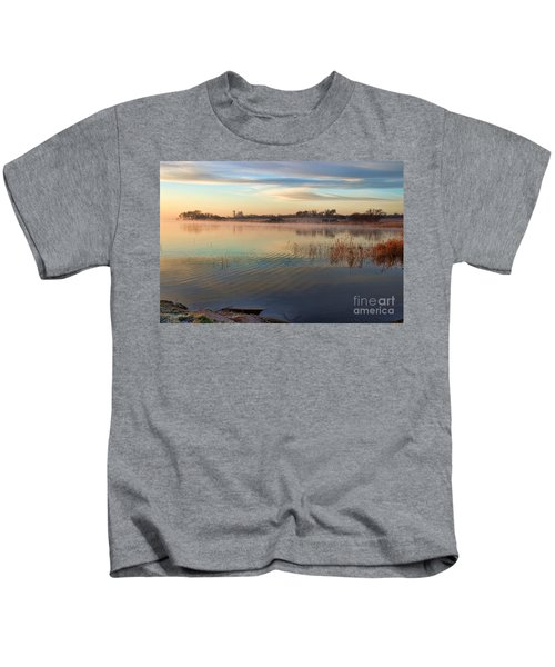 A Gentle Morning Kids T-Shirt