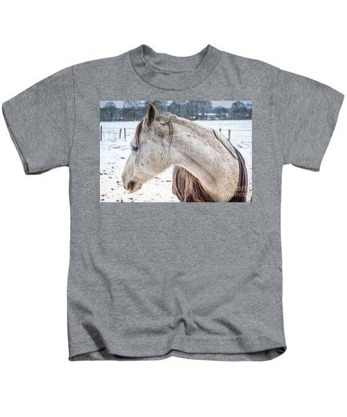 A Girlfriend Of The Horse Amigo Kids T-Shirt