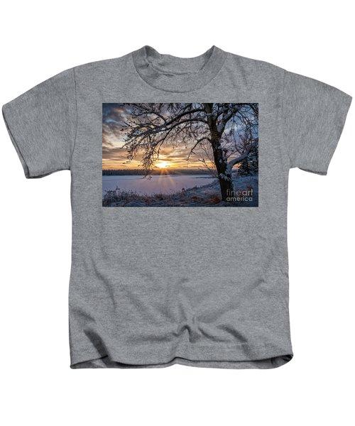 A Glenmore Sunset Kids T-Shirt