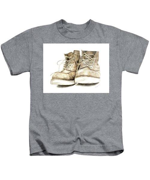 A Hard Day's Work Kids T-Shirt