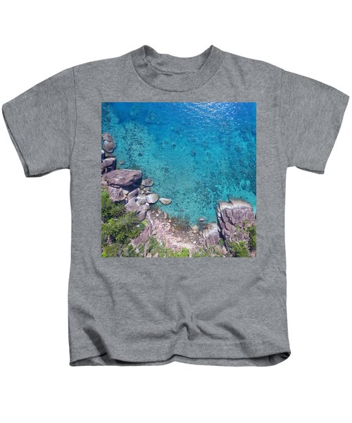 A Little Square Of Paradise  Kids T-Shirt