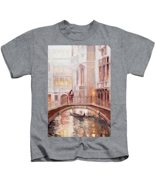 A Perfect Afternoon In Venice Kids T-Shirt