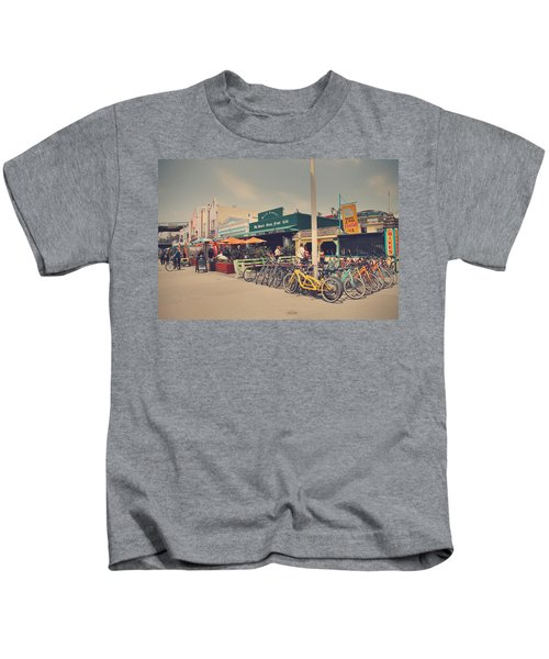 A Perfect Day For A Ride Kids T-Shirt