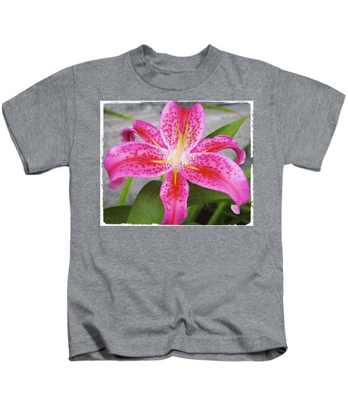 A Pink So Vivid I Can Almost Taste It Kids T-Shirt