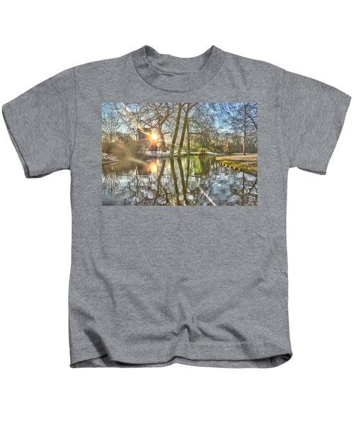 A Pond In Rotterdam Kids T-Shirt