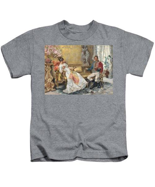 A Romantic Entanglement Kids T-Shirt