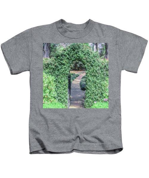 A Secret Doorway Kids T-Shirt