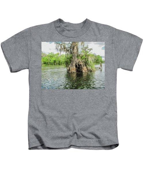 A Secret Hiding Place Kids T-Shirt